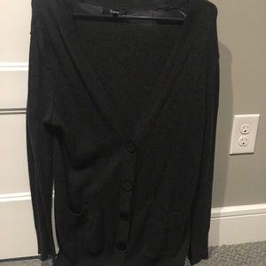 Express size M gray oversized sweater